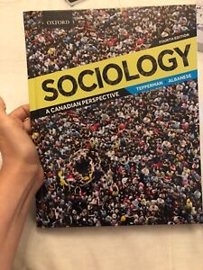 Sociology a canadian perspective tepperman albanese