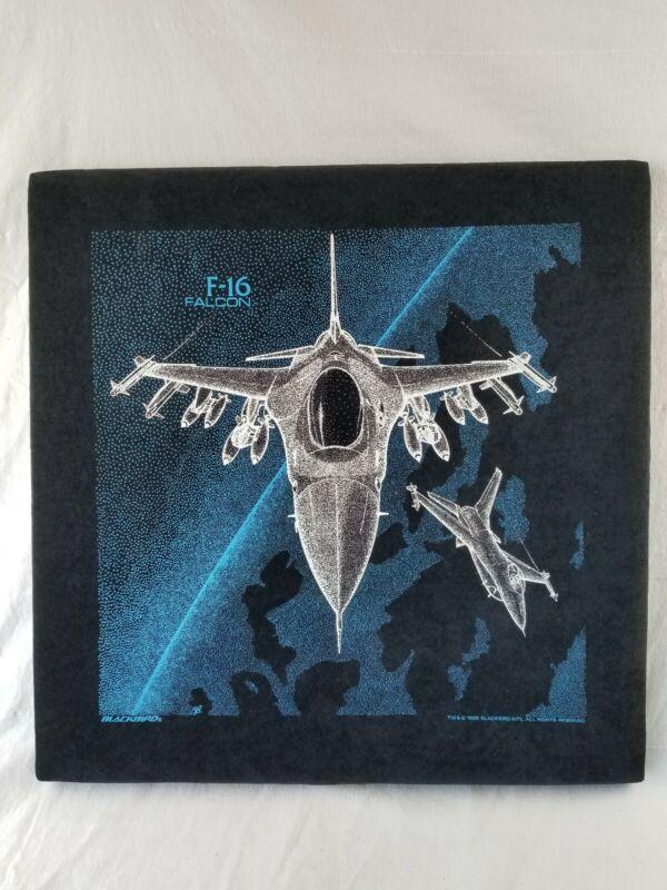 Blackbird Industries Velvet Poster 20x20 Original 1988 F-16 Falcon framed rare