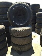 Toyota Hilux wheels and tyres 31x10.50R15 Hemmant Brisbane South East Preview