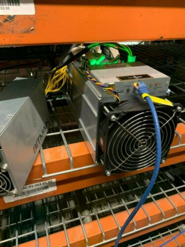 Antminer S9 Bitcoin Miner *Includes Bitmain Power Supply* - 60%-70% Hash Rate