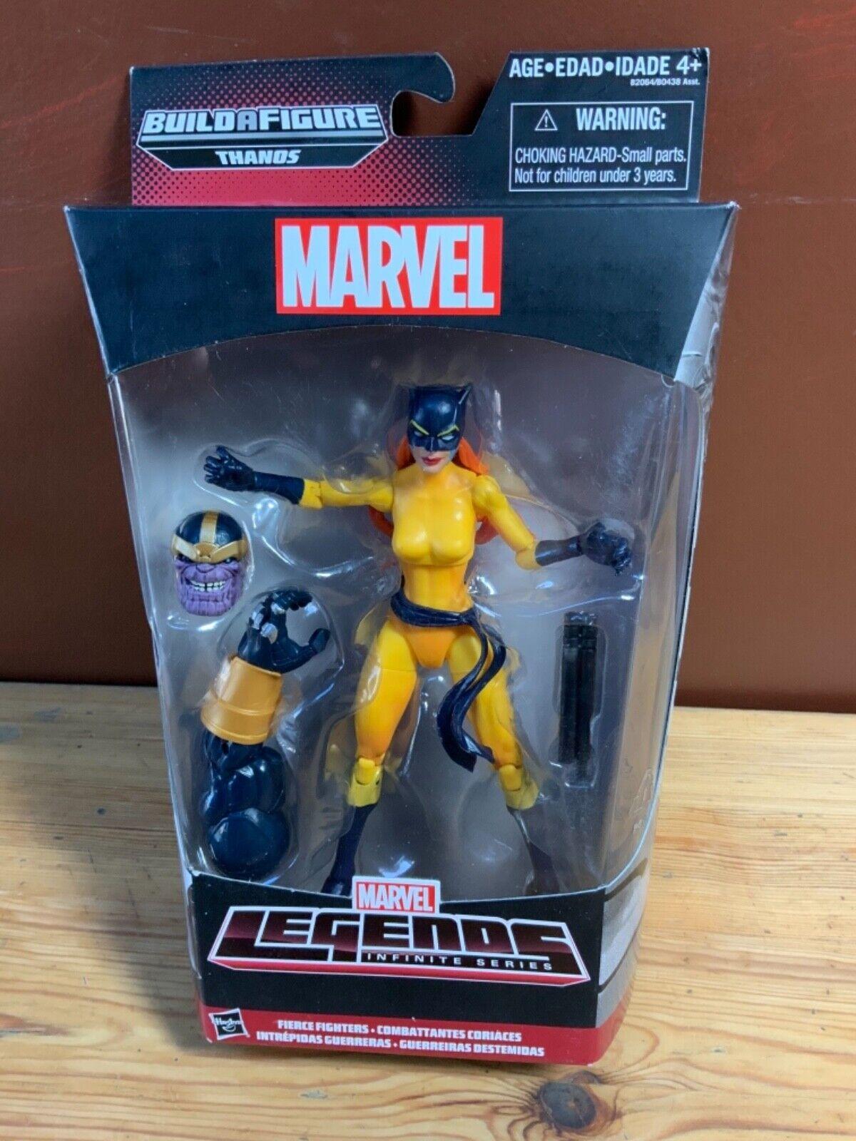 Marvel Legends Thanos BAF Hellcat Head without Hair Custom Fodder Accessory Part