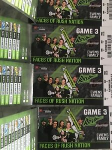 Rush Feb 3 Game Tickets