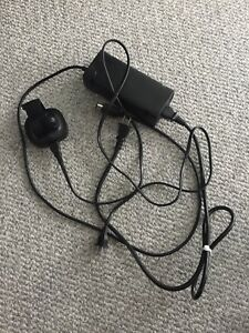 Xbox 360 power cord and dual battery charger