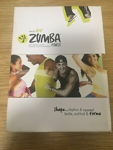 Zumba fitness. 4 pack Dvds South Yarra Stonnington Area Preview