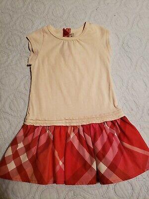 Burberry Baby Girls Dress Sz 6 M