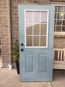 36 inch exterior door.. perfect for shed