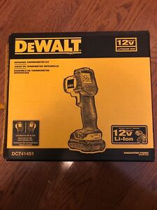 Dewalt dct414s1 - infrared thermometer kit