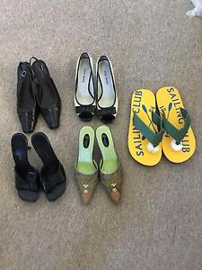 LEATHER SHOES SIZE Size 37 - 7 - 7,5 - 9 New Farm Brisbane North East Preview