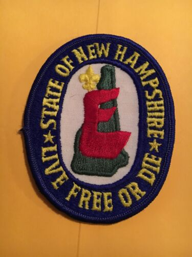 New Hampshire Explorer Vintage Police Patch