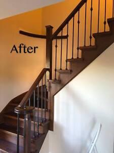 Iron Railing, Hardwood Flooring, Stairs Manufacture & Supplies