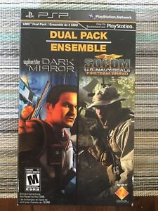 PSP dual pack games