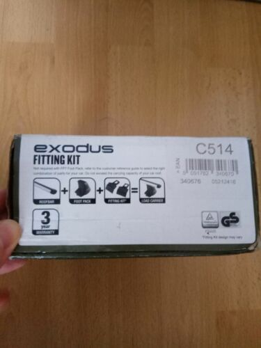 Exodus Roof Bar Fitting Kit C619 brand new