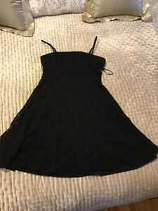Black Lace Dress from H&M New York City Store!