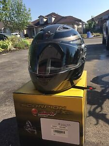 Scorpion Motorcycle Helmet. (Brand New)