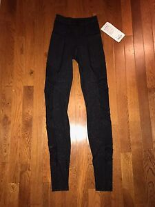 NEW WITH TAGS SIZE 2 LULULEMON LEGGINGS