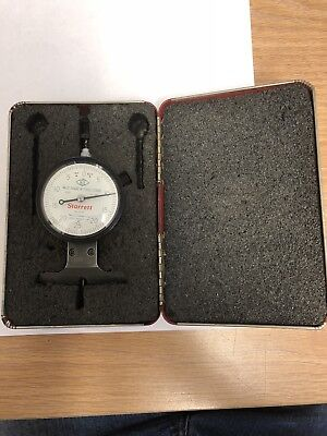 Starrett Indicating Depthdrop Gage .0005 Accuracy .125 Range