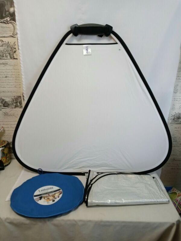 Lastolite Professional TriFlip Reflector Kit*Photography*Used
