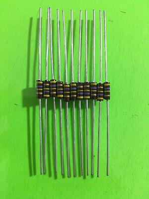 470r 14w 5 Carbon Composition Resistor Lot Of 100 - Carbon Comp 250mw