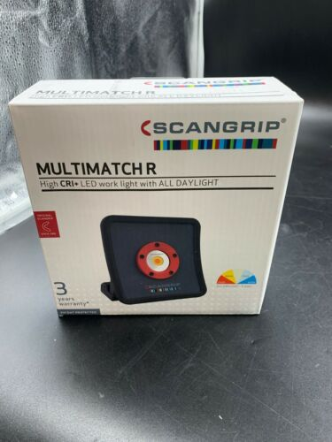 scangrip multimatch R high cri+ led work light with all daylight