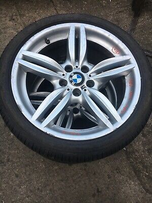 "BMW M SPORT 19"" ALLOY WHEELS X2 WITH TYRES 275/35/19 M96393"