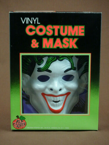 HALLOWEEN JOKER COSTUME WITH MASK BEN COOPER CHILDRENS MEDIUM (8-10)