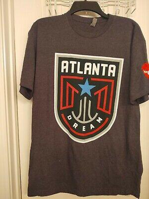 Atlanta Dream / Coca Cola Tshirt  Gray,  Large, New No Tag