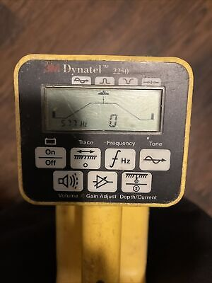 3m Dynatel 2250 Cablepipefault Locator Kit Preowned