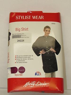 Betty Dain Original Big Shirt, Burgundy ()