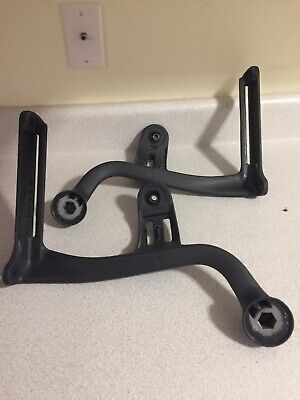 Herman Miller Aeron Size B Chair Parts Left And Right Arm Supports Arm Yoke