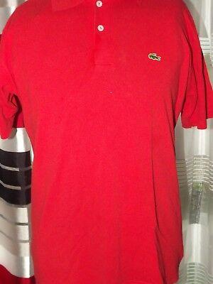 73b739513c LACOSTE Polo T-Shirt (L) Shirt Jersey Trikot Maglia Maillot Camiseta (1708)
