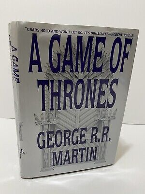 George RR Martin A Game of Thrones Hardcover Book Club Edition