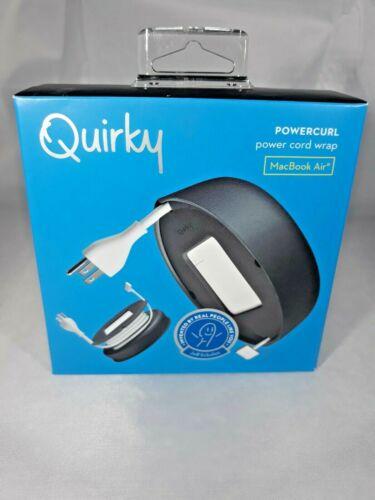 Quirky Powercurl Power Cord Wrap Mac Book Air, Black