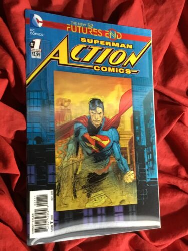 SUPERMAN IN ACTION COMICS #1~LENTICULAR 3-D VARIANT~DC COMICS BOOK~1st PRINT