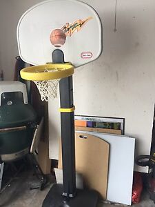 Little Tyke basketball hoop