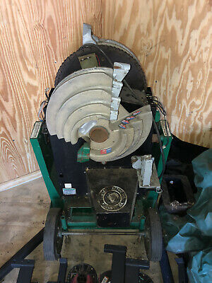 Greenlee 855 Smart Quad Pipe Conduit Bender 12 To 2 Inch. Control Panel Broke