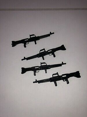 Vintage Galoob A-Team Action Figure Lot Complete Set Of Weapons 4  Rifles