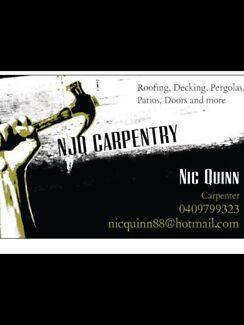 NJQ Carpentry and Construction  Meadow Springs Mandurah Area Preview