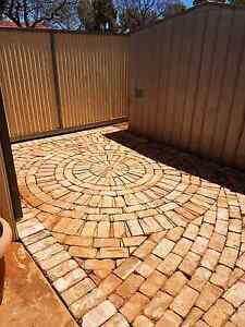 Brick paving  and synthetic lawn   perth Padbury Joondalup Area Preview