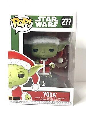 Funko POP! Star Wars Series Christmas Santa YODA #277 Vinyl Figure