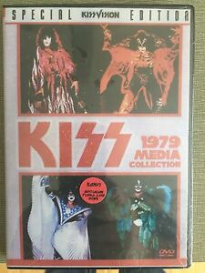 KISS KISSVISION DVD - 1979 MEDIA COLLECTION