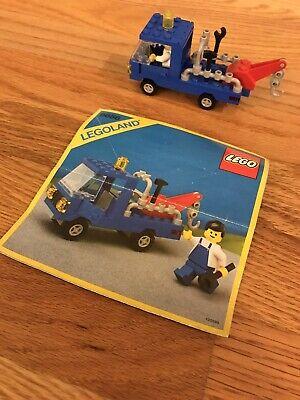 LEGO 6656 Town Wrecker Unit I~100% Complete~No Box~VINTAGE~ORIGINAL instructions