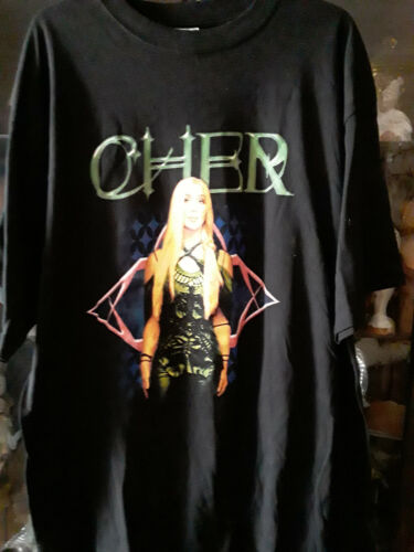 VINTAGE 2003 CHER FAREWELL CONCERT TOUR T SHIRT SUPERB CONDITION!