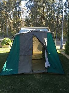 8 Person Cougar Canvas Tent, two rooms, Excellent condition Glenmore Park Penrith Area Preview