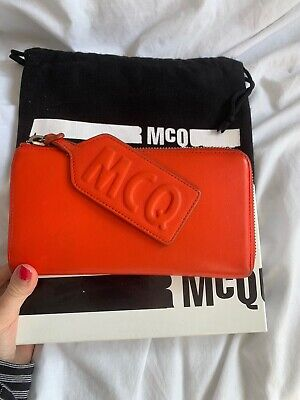 Alexander Mcqueen Red Purse AUTHENTIC