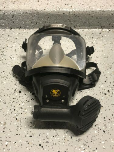 Poseidon AtmoSphere Full Face Diving SCUBA Mask - Made in Sweden - Good