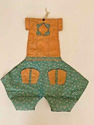 1920s Style Purses, Flapper Bags, Handbags 1920's  Antique Handmade Dress Lingerie Nylon Stocking Feedsack Clothespin Bag  $24.00 AT vintagedancer.com