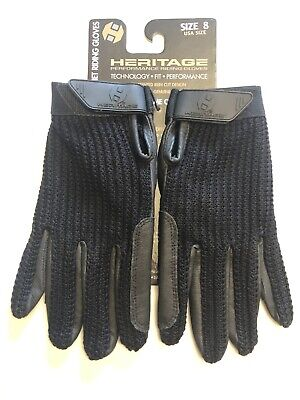 AFE Equestrian Ladies Horse Riding Gloves Amara Leather Cotton Dublin Shires