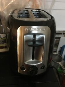 Black and decker toaster rarely used
