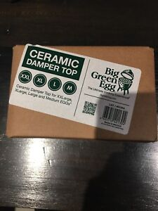 Ceramic Damper Top for Big Green Egg