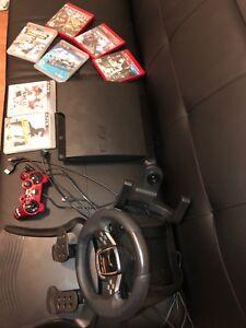 PS3 160gb avec jeux